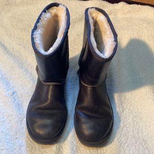 Dark blue Ugg boots
